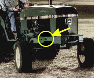 TractorData John Deere 2355 tractor information