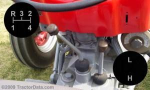 TractorData Massey Ferguson 135 tractor transmission information