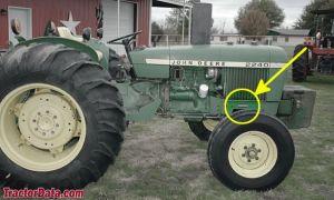 TractorData John Deere 2040 tractor photos information