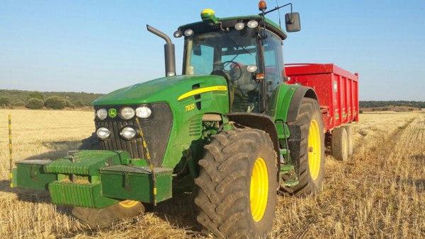 Maquinaria para cultivos herbáceos. Fuente: John Deere