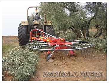 Maquinaria para olivar. Fuente: agricolaquero