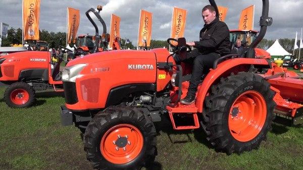 Tractor Kubota L1361 arco Kubota