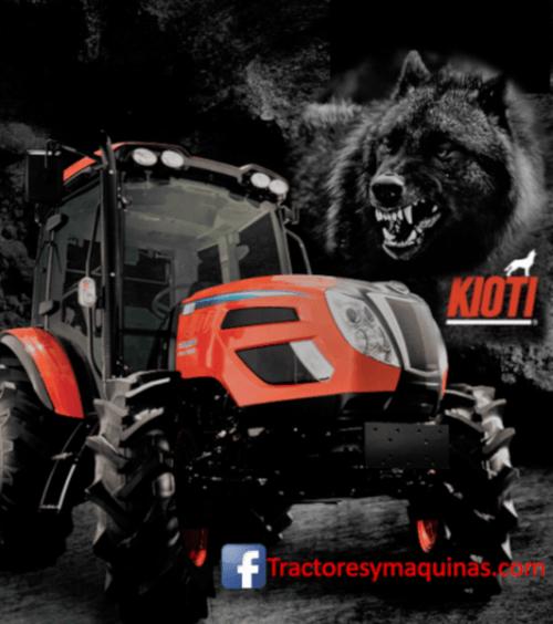 tractores kioti, el lobo coreano