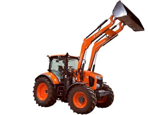Pala Tenías en Tractor Kubota
