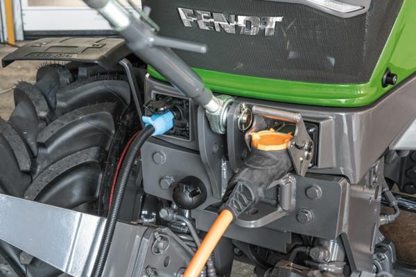 Conector ISOBUS delantero