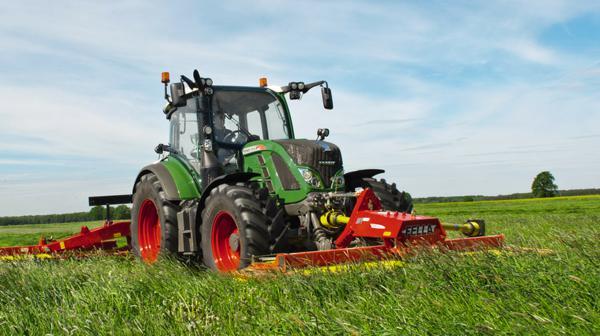 Tractor de segunda mano Fendt