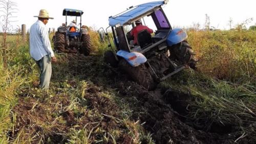 Patinamiento Tractor