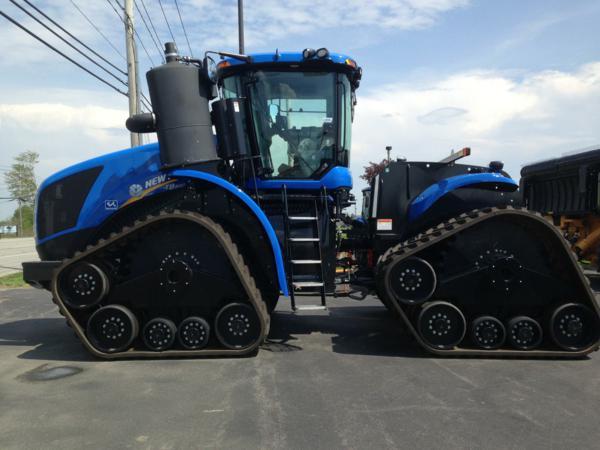 Tractor New Holland de cadenas precio