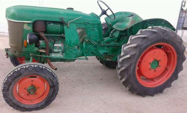 Tractor clásico Deutz-Fahr