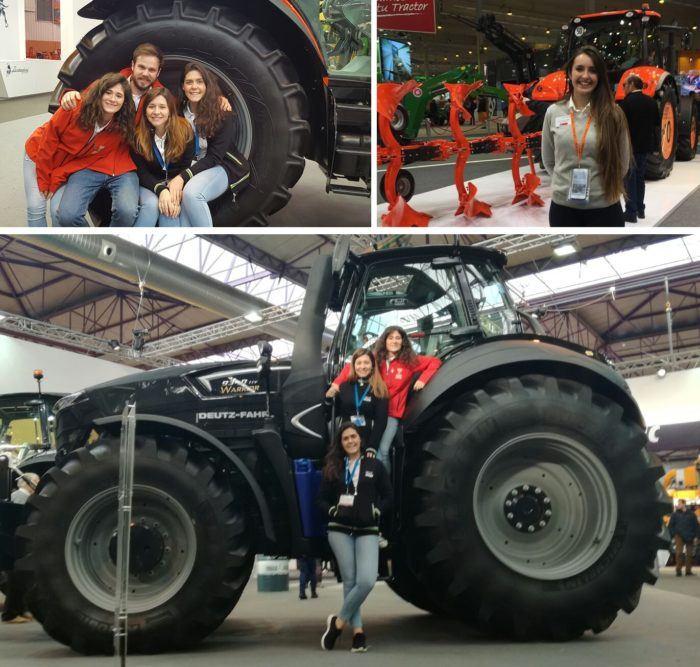 Alumnos de la Escuela de Ingeniería Agronómica de Madrid contratados en la FIMA 2018