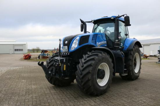 Tractor New Holland de segunda mano