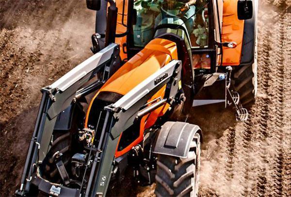 Tractor articulado Valtra. Cómo funcionan los Tractores Articulados