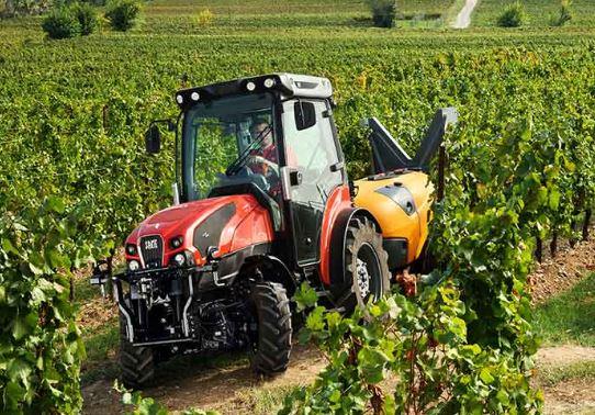 Tractor frutero de SAME