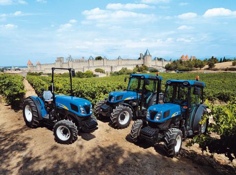 Tractor frutero Landini