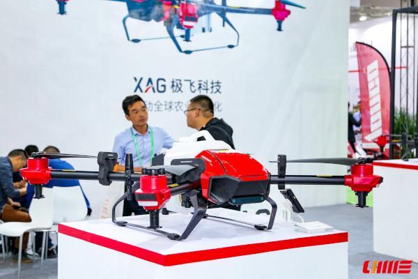 Dron para pulverización de cultivos agrícolas