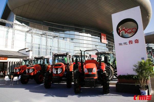 Tractores chinos de potencia media