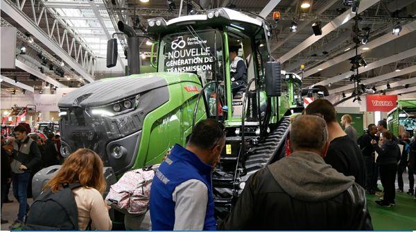 Tractor de Orugas Fendt presentado en SIMA 2019