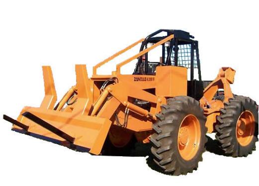 Tractor forestal Zanello 4200 FF