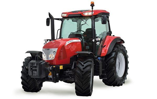 Tractor McCormick de media potencia