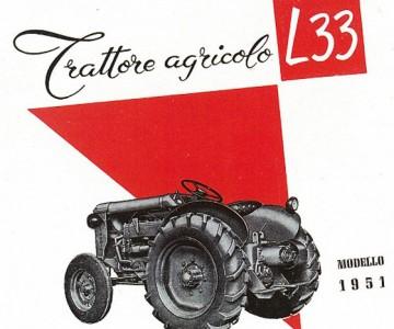 Publicidad Lamborghini L33 (1951)