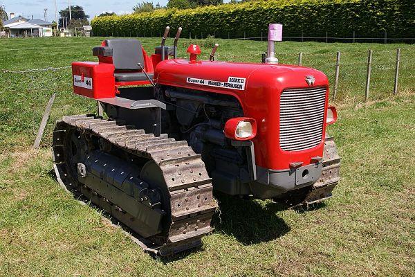 Tractor de cadenas Massey Ferguson