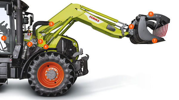 Cargador Frontal para tractores Claas