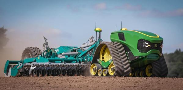 Tractor con motor eléctrico