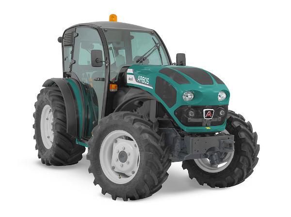 Tractor Arbos con cabina baja