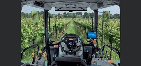 Cabina Tractor frutero Landini Rex 4