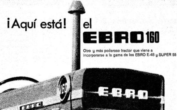 Anuncio de la llegada del Ebro 160 en una revista