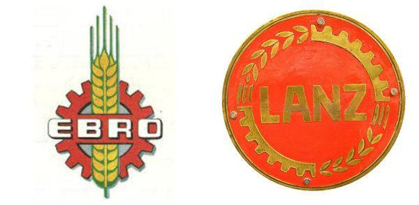 Las espigas y los engranajes, seña de identidad de ambas Ebro y Lanz