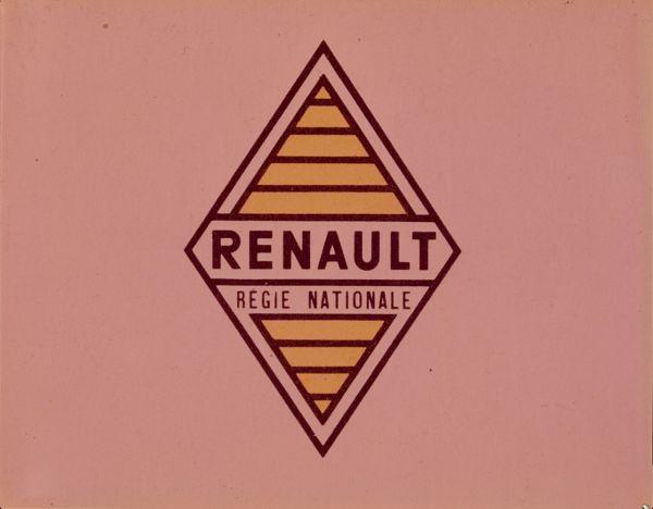Antiguo logo de Renault