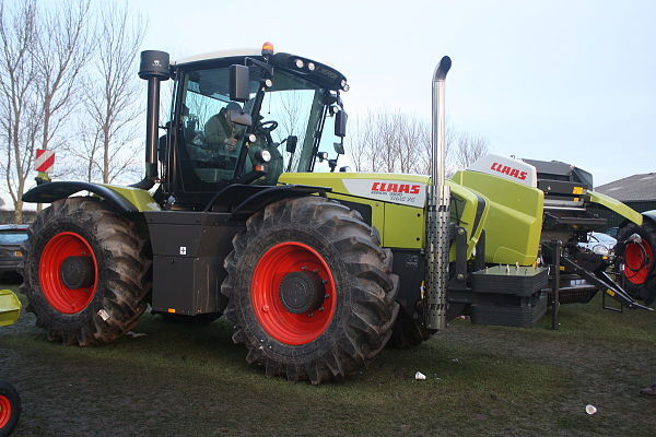 Claas, tractores reversibles