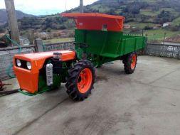 El Tractocarro Agria, un vehículo agrícola icónico
