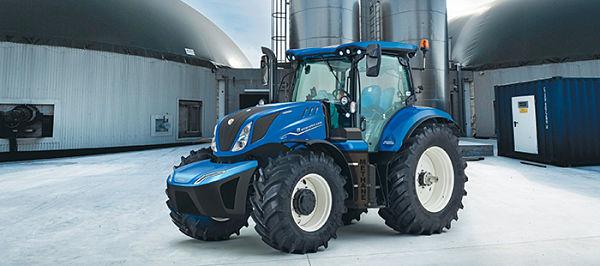 Tractor NH T6.180 de metano