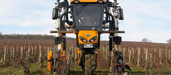 Tractor Zancudo Pellenc 330
