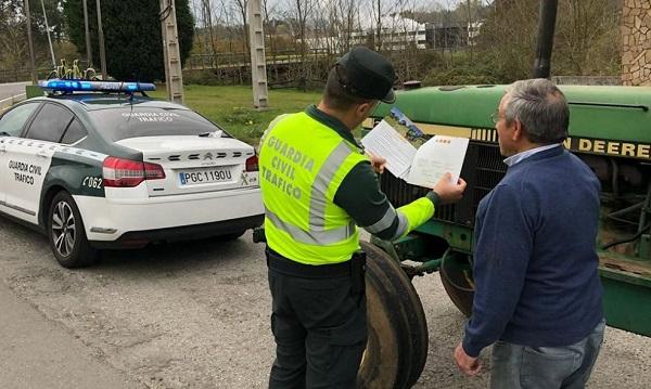 Control de documentación de la Guardia Civil
