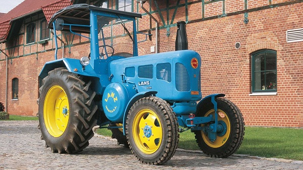 Tractor Lanz Bulldog D-3850 con cabina