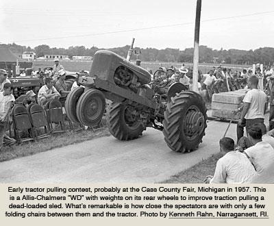 Historia del Tractor Pulling