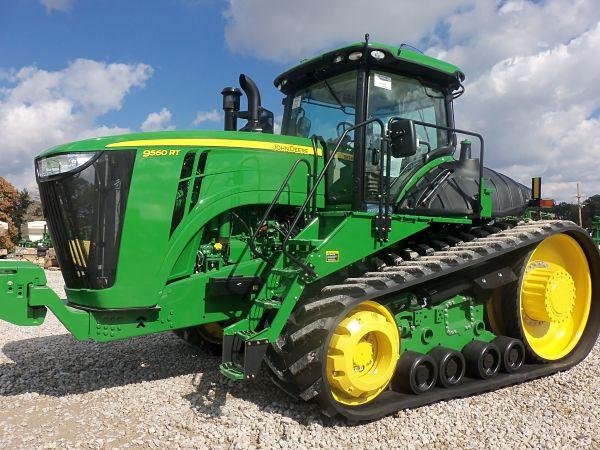 Tractor Oruga John Deere 9560 DT
