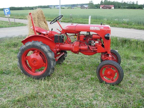 Valmet 20, uno de los primeros tractores de la marca