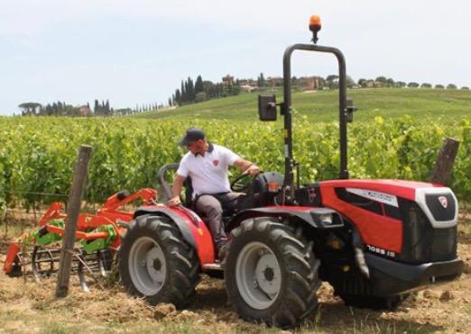Tractor frutero Valpadana