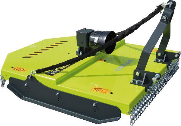 Desbrozadora para tractores de mediana potencia de 40 a 80 CV