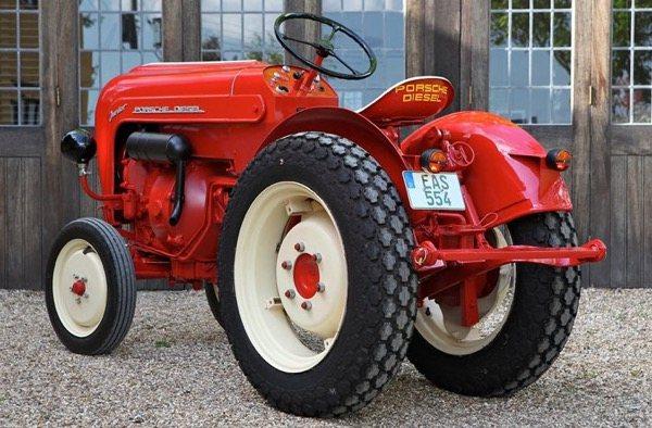 Tractor Porsche Diesel junior 108S