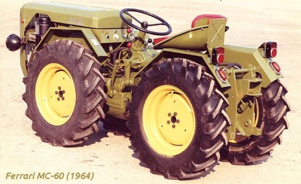 Tractor Ferrari MC-60