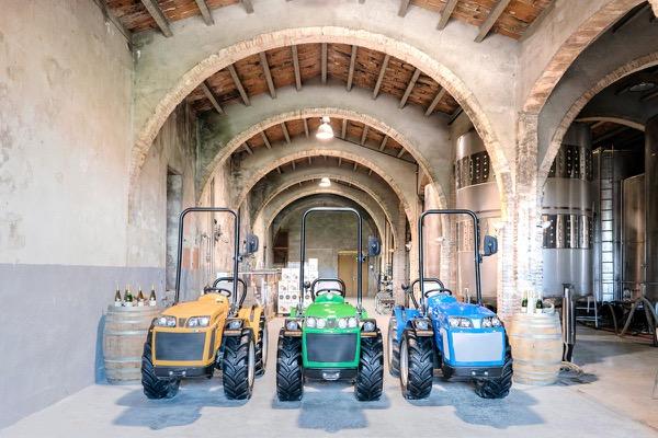 Tractores BCS, Ferrari y Pasquali