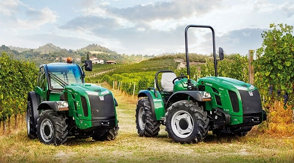 Tractor rígido y articulado de Ferrari