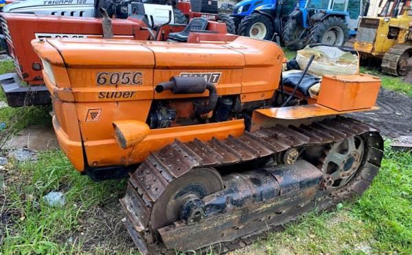 Tractor Fiat 605 c compacto