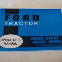 2000 3000 4000 5000 FORD TRACTOR OWNERS MANUAL