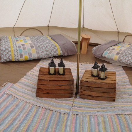 Glamping Bell Tent Hire northumberlan
